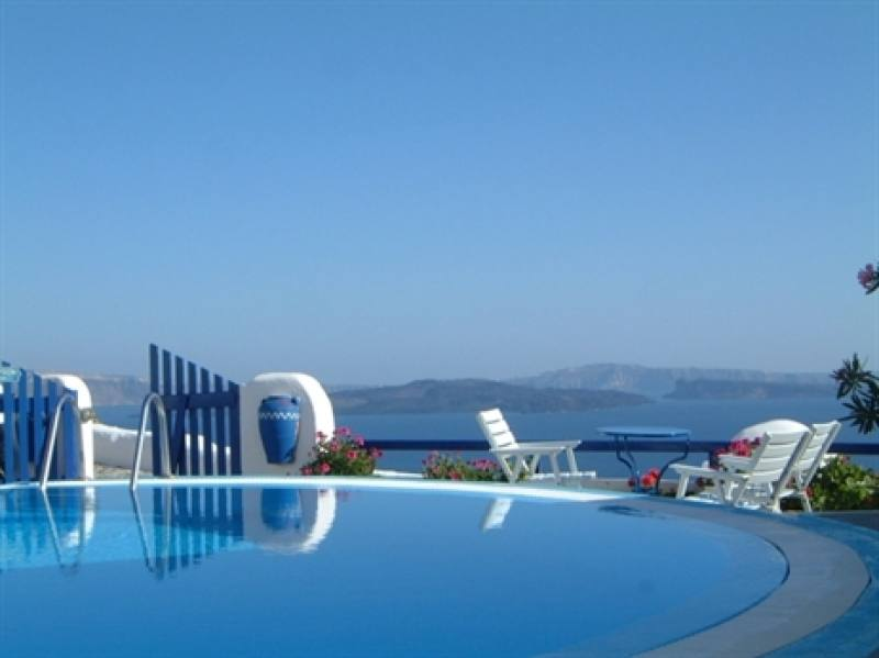 Appartementen Olympic Villas - Oia - Santorini